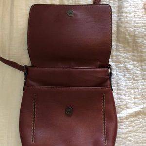 Roots Bags - Burgundy Roots Purse